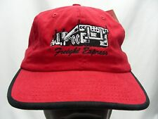 FREIGHT EXPRESS - RED - ADJUSTABLE STRAPBACK BALL CAP HAT!