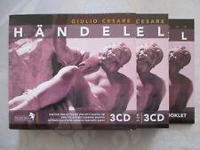Handel: Giulio Cesare-panni, Dupuy, Pierotti, ligi, Orciani - 3 CD COME NUOVO