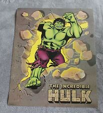 Incredible Hulk 1988 One Stop Marvel Entertainment Comics Poster VF