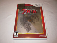 The Legend of Zelda: Twilight Princess (Nintendo Selects Wii) Complete LN Mint!