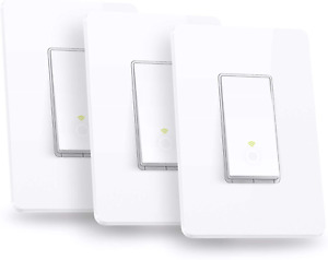 TP-LINK HS200P3 Kasa Smart WiFi Switch (3-Pack) Control Lighting from Anywhere
