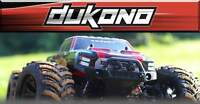 REDCAT RACING® DUKONO 1/10 SCALE BRUSHED ELECTRIC MONSTER TRUCK RC
