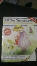'All Our Yesterdays' Cross Stitch small kit with chart