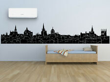 Wall Room Decor Art Vinyl Sticker Mural Decal City Skyline Oxford UK FI822