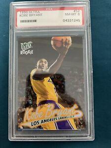 1996-97 Fleer Ultra Basketball Kobe Bryant ROOKIE RC #52 PSA 8 Lakers