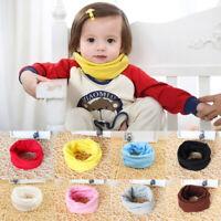 Kids Baby Girls Boys Warm Cotton Snood Scarf Scarves Winter Neckerchief Cute