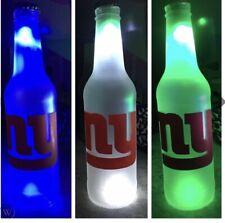 New York Giants Led Bottle Light Pub Bar Neon Sign Nfl