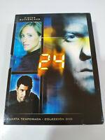 24 Quarta Stagione 4 Completa Pieghevole - 7 X DVD Spagnolo Inglese - 3T