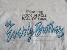 1986 The Rock 'N Roll Hall of Fame The Everly Brothers (Lg) T-Shirt Bye Bye Love