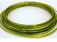 Floristry Craft Design Wire 10m Oasis 2mm thick lime green aluminium mouldable