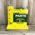 "John Deere Parts Rain Gauge 5"" Metal Tin Sign Vintage Farm Tractor Barn New"