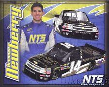2013 Brennan Newberry NTS Motorsports Chevy Silverado NASCAR CWTS postcard