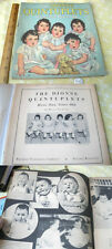 THE DIONNE QUINTUPLETS;WE'RE TWO YEARS OLD,1936,Photo Illust,#942