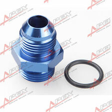 -10 AN 10AN Male Flare To -10AN AN10 Straight Cut O-Ring Fitting Blue