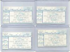 "HANK WILLIAMS JR. ""4"" TICKET STUBS. MEADOWLANDS. 5/20/1989. W/ STEVE WARINER."