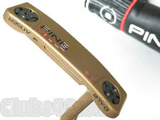 """Ping Vault 2.0 Dale Anser Putter Copper Black Dot Slight 35"""" with Cover .. MINT"""