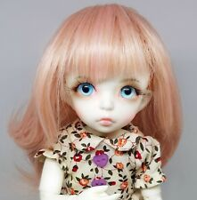 BJD Doll Girl 1/6 Make Up Crystal Eyes Wig & Dress Ball Jointed Doll *Full Set*