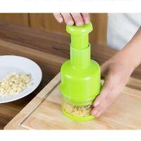 Kitchen Pressing Food Onion Garlic Vegetable Chopper Cutter Slicer Peeler Dicer