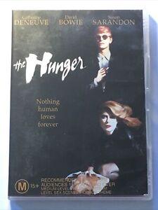 The Hunger (1983, DVD, Region 4) David Bowie Susan Sarandon Catherine Deneuve