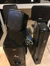 RCA RTD325W DVD Player HDMI Connection  W/5 Surrounds System Speakers+subwoofer