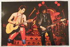 Queen 1980 Poster Freddie Mercury Brian May Live Stage Shot Pace Scotland
