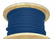 200' 1/0 AWG Stranded Copper Flexible Welding Cable Blue 600V