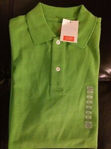 Nwt Mens Polo Shirt Lime Green Size Small Short Sleeve Joe Fresh Y13