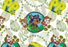 PAW PATROL RESCUE FABRIC RUBBLE CHASE MARSHALL NICKELODEON QUILTING  BY THE YARD