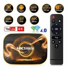 New listing  Hk1 Pro Android 10.0 Quad Core 4Gb+128Gb 4K Smart 5G Wifi Media Streamer Tv Box