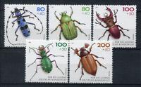 Allemagne 1993 Mi. 1666-1670 Neuf ** 100% Beetle en voie de disparition