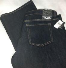 Women's GAP Premium Boot Cut Jeans DARK BKUE NIGHT SKY Low Rise Slim Fit 14 32