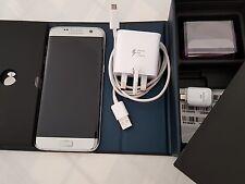 SAMSUNG Galaxy S7 bordo (Dual Sim) SM-G935FD - 32GB-argento titanio (Sbloccato)