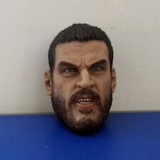 1/6 Scale Gangster Big beard Head Sculpt for 12in Action Figure DIY Toys No Neck