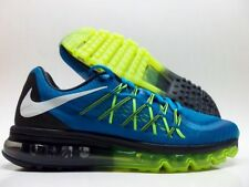 NIKE AIR MAX 2015 LIGHT BLUE LACQUER/WHITE-VOLT SIZE WOMEN'S 9 [698903-413]