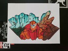 Frank1 Graffiti Art Original 8.5x11 Heman MOTU Beast Man / Cope2 Banksy Seen