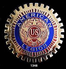 CAR  GRILLE  EMBLEM BADGES - AMERICAN LEGION