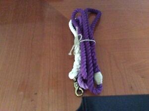Handmade  Purple  Ombré Unisex Rope Dog Leash 75 Inch