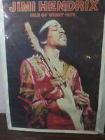 "Jimi Hendrix ""VERY RARE"" 1970 Isle of Wight  ""Original"" (NOT Reissue)"