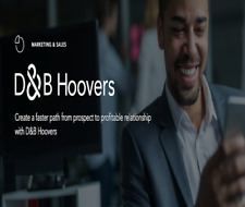 Lead Generation,  Recruiting Online Intelligence Tools D&B Hoovers Subscription