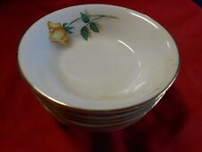 """Vintage SIMPLICITY China """"The Hallmark of Quality"""" Set of 7 BERRY BOWLS"""