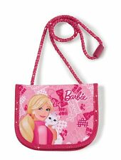 Nici 35316 Neck Pouch BARBIE WITH CAT BLISSA Pink NEW Carrying Strap Wallet