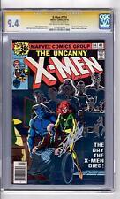 X-Men #114 CGC 9.4(SS)Stan Lee OW/WP '1st 'Uncanny in Logo'.Sauron..! Byrne C&A!