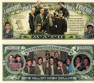 M*A*S*H  -  4077 - TV Series Million Dollar Novelty Money
