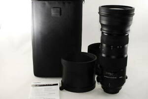 【 Mint in BOX 】Sigma 150-600mm f/5-6.3 DG OS HSM Sports Lens for Canon by DHL