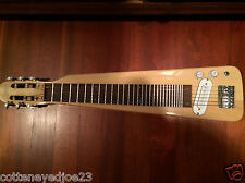 NEW CUSTOM HAND MADE WESTERN SWING 6 STRING ELECTRIC GOLD LAP STEEL GUITAR