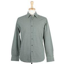 Prada Men's Houndstooth Dress Shirt 15 1/2