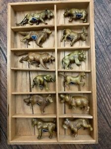 Small animal figurines - Made in Japan - Vintage