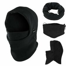 Ski Mask Thermal Balaclava Full Face Winter Cap Hat Motorcycle Neck Cover Fleece