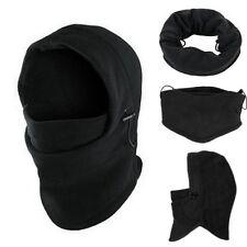 Ski Mask Thermal Balaclava Full Face Winter Cap Hat Motorcycle Neck Cover Fleece