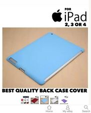 Metallic Finish For iPad 2 iPad 3 iPad 4 Protective Snap On Back Case Cover